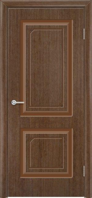 Межкомнатная дверь шпон Б 3 орех 3