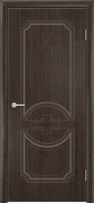 Межкомнатная дверь шпон Б 5 венге 3