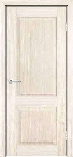 Межкомнатная дверь шпон Классика белёный дуб 1