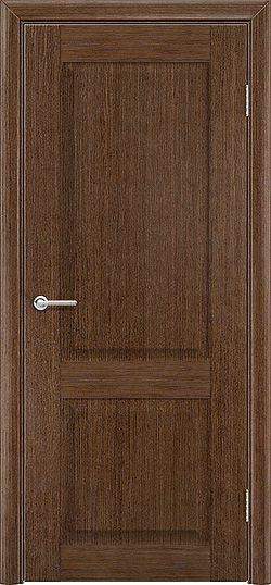 Межкомнатная дверь шпон Классика орех 1