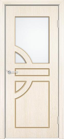 Межкомнатная дверь шпон Елена белёный дуб 3
