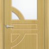 Межкомнатная дверь шпон Ирис белёный дуб 1
