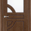 Межкомнатная дверь шпон Елена орех 2