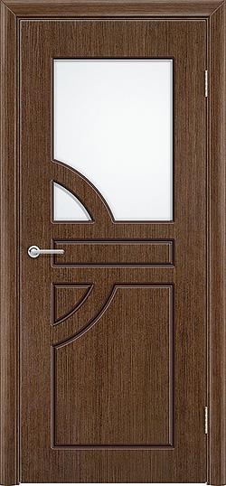 Межкомнатная дверь шпон Елена орех 3