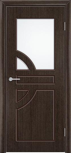 Межкомнатная дверь шпон Елена венге 1