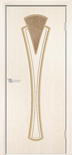 Межкомнатная дверь шпон Флора белёный дуб 3