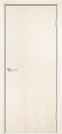 Межкомнатная дверь шпон Гладкое белёный дуб 3