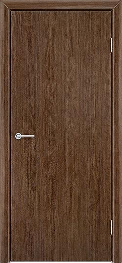 Межкомнатная дверь шпон Гладкое орех 3