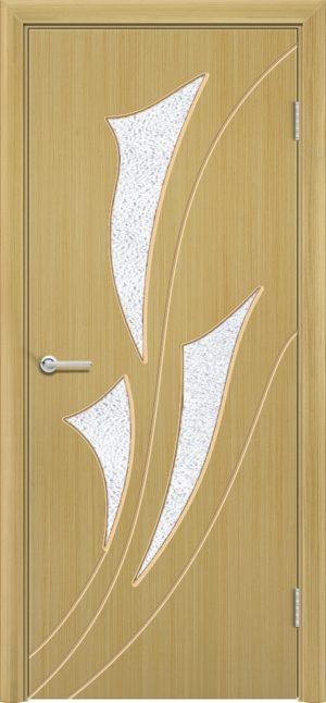 Межкомнатная дверь шпон Ирис дуб 3