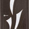 Межкомнатная дверь шпон Б 5 белёный дуб 1