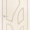 Межкомнатная дверь шпон Б 11 белёный дуб 1