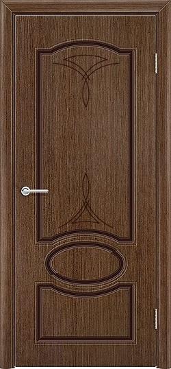 Межкомнатная дверь шпон Лига орех 2