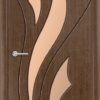Межкомнатная дверь шпон Порто 2 венге 1