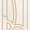 Межкомнатная дверь шпон Б 10 венге 2