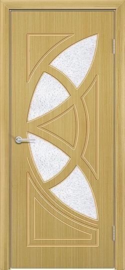 Межкомнатная дверь шпон Мелодия дуб 3