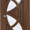 Межкомнатная дверь шпон Мелодия орех 2