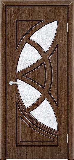 Межкомнатная дверь шпон Мелодия орех 1