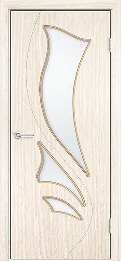 Межкомнатная дверь шпон Ника белёный дуб 1