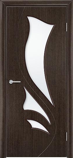 Межкомнатная дверь шпон Ника венге 3