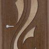 Межкомнатная дверь шпон Арка венге 1