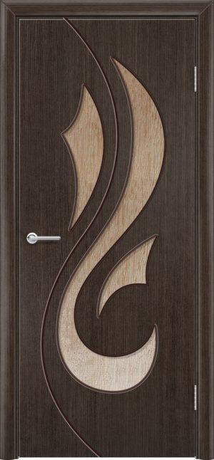 Межкомнатная дверь шпон Орхидея венге 3
