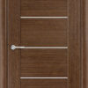 Межкомнатная дверь шпон Порто 1 орех 1