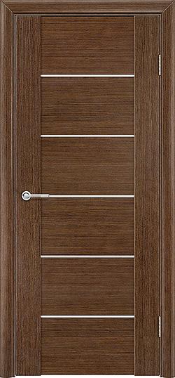 Межкомнатная дверь шпон Порто 1 орех 3