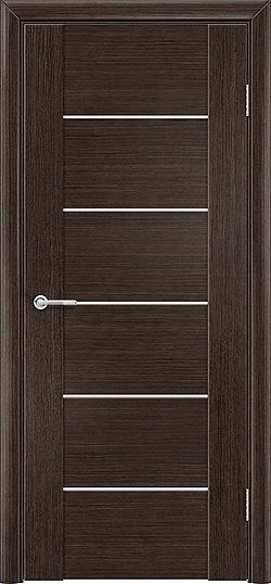 Межкомнатная дверь шпон Порто 1 венге 2