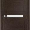 Межкомнатная дверь шпон Лотос орех 2