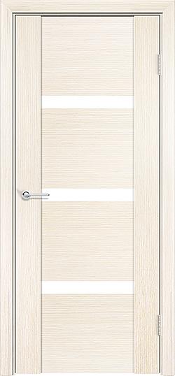 Межкомнатная дверь шпон Порто 3 белёный дуб 3