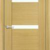 Межкомнатная дверь шпон Порто 1 орех 2