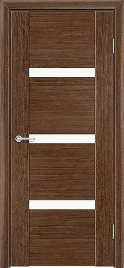 Межкомнатная дверь шпон Порто 3 орех 1