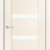 Межкомнатная дверь шпон Порто 4 белёный дуб 1