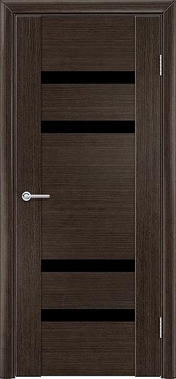 Межкомнатная дверь шпон Порто 5 венге 1
