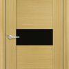 Межкомнатная дверь шпон Б 21 венге 1