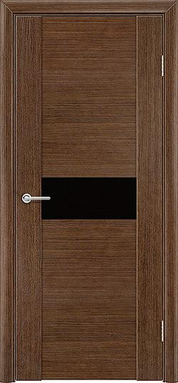 Межкомнатная дверь шпон Порто 6 орех 3