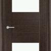 Межкомнатная дверь шпон Ромарио 2 орех 2