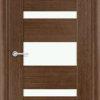 Межкомнатная дверь шпон Порто 8 белёный дуб 1