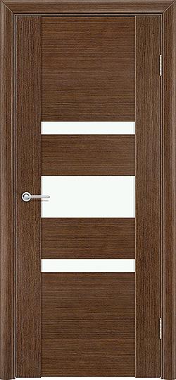 Межкомнатная дверь шпон Порто 8 орех 1