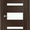 Межкомнатная дверь шпон Б 2 венге 1