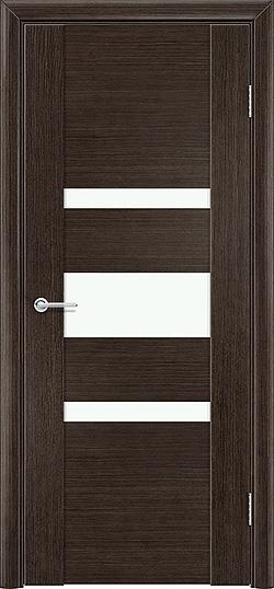 Межкомнатная дверь шпон Порто 8 венге 1