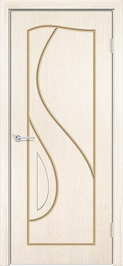Межкомнатная дверь шпон Премьера белёный дуб 1