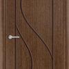 Межкомнатная дверь шпон Б 13 белёный дуб 1