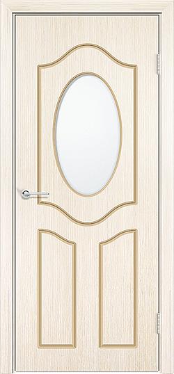 Межкомнатная дверь шпон Ренессанс белёный дуб 3