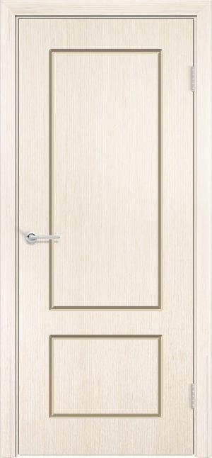 Межкомнатная дверь шпон Ромарио 2 белёный дуб 3