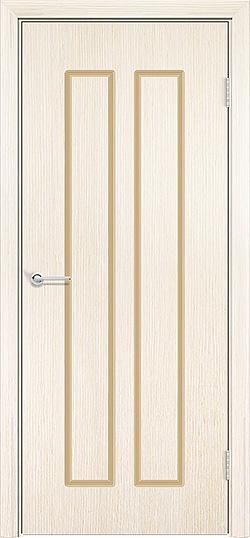 Межкомнатная дверь шпон Роял белёный дуб 1